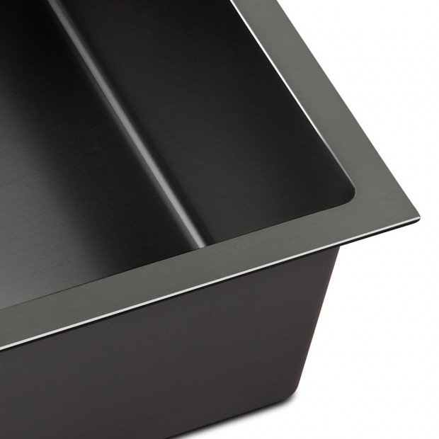 700x450mm Nano Stainless Steel Kitchen Sink Image 5