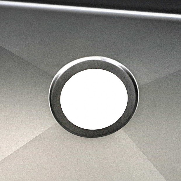 770 x 450mm Stainless Steel Sink - Black Image 5