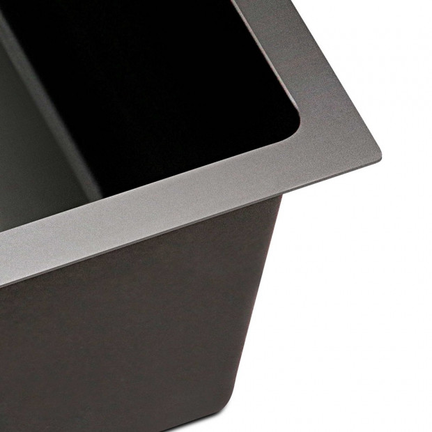 770 x 450mm Stainless Steel Sink - Black Image 6