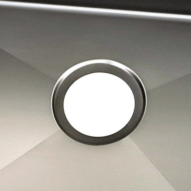 600 x 450mm Stainless Steel Sink - Black Image 5