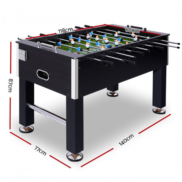 5FT Soccer Table Foosball Football Game Home Kids Adult Toy Gift Image 2