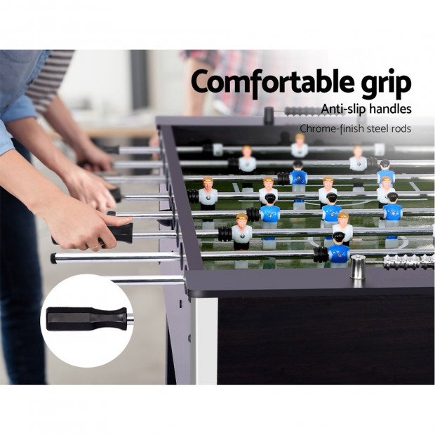 5FT Soccer Table Foosball Football Game Home Kids Adult Toy Gift Image 4