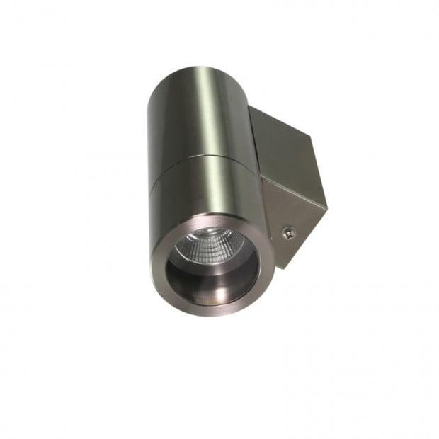 Wall-Mounted Down Light 240V LED Marine Grade Stainless Steel
