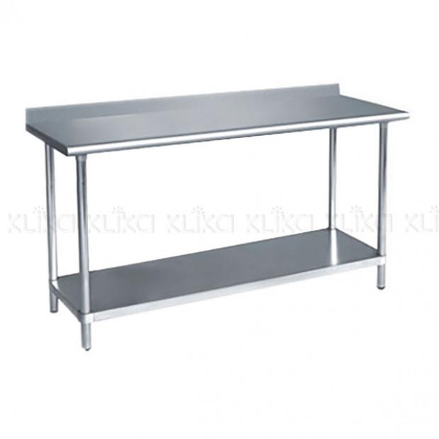 430 Slashback Stainless Steel workbench 1820 x 610