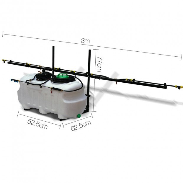 Weed Sprayer 100L Tank with Boom Sprayer Image 1