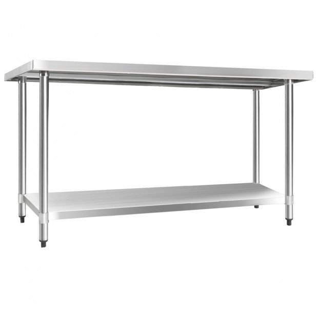 1524 x 610mm Commercial Stainless Steel Kitchen Bench Image 4