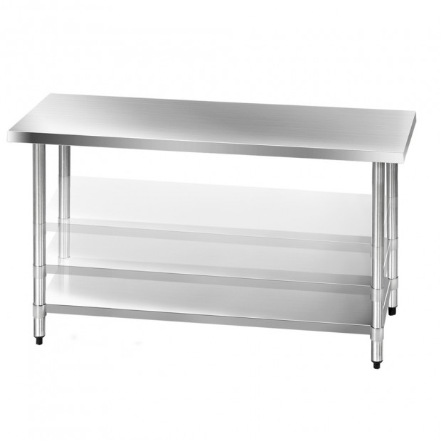 1524 x 610mm Commercial Stainless Steel Kitchen Bench Image 5