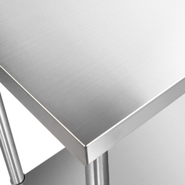 1524 x 610mm Commercial Stainless Steel Kitchen Bench Image 6