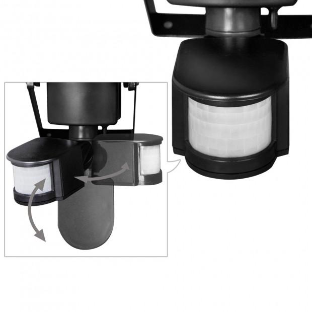 Set of 2 100 LED Solar Powered Motion Sensor Lights Image 6