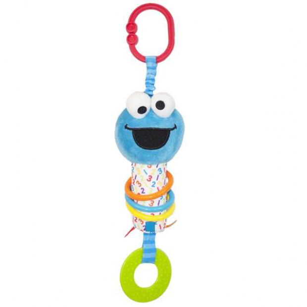 Sesame Street Activity Teether Cookie Monster 32cm