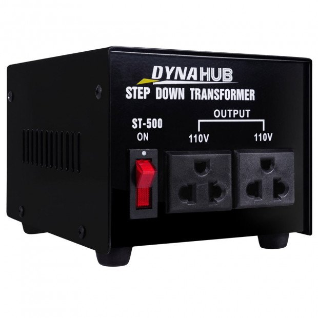 Stepdown Transformer 500W 240V to 110V