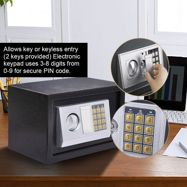 Password Electronic Safe Digital Security Box 16L Image 4