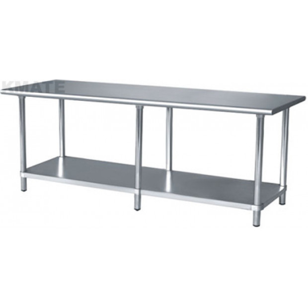 430 Stainless Steel workbench 600 x 2400