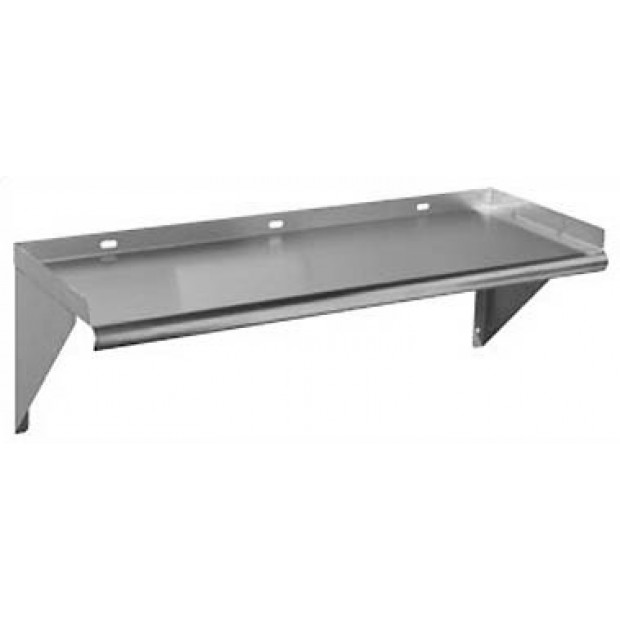 Stainless steel wall shelf 1200x300