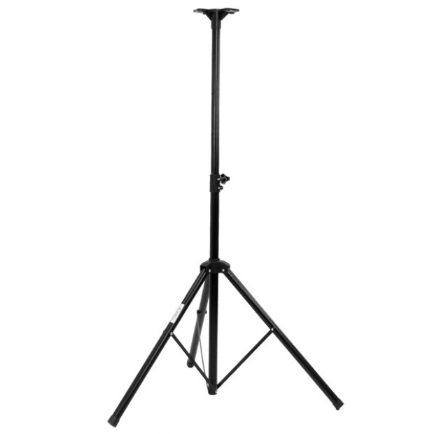 Pair adjustable tripod PA speaker stands Image 4