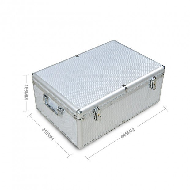 Aluminium Cd Case Dvd Case With Bluray Lock 500 Discs Image 5