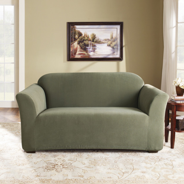 Sure Fit 2 Seater Pearson Sofa Cover - Sage