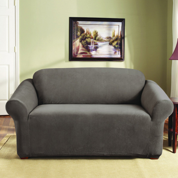 Sure Fit 2 Seater Pearson Sofa Cover - Taupe