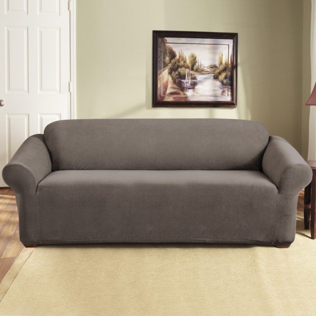 Sure Fit 3 Seater Pearson Sofa Cover - Taupe