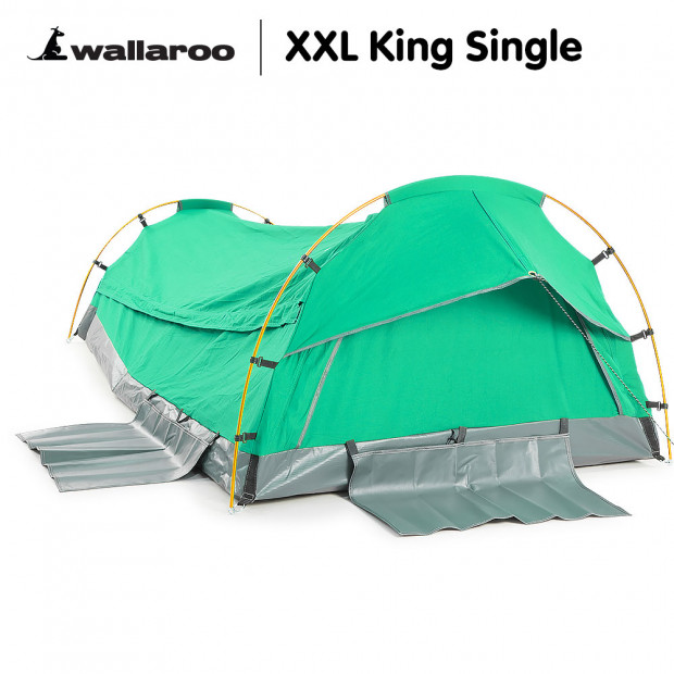 Wallaroo Swag King Single Dome - Celadon