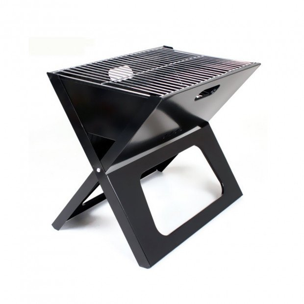 Portable  Grill Foldable Folding Charcoal Bbq Camping Picnic Barbecue