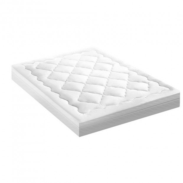 1000GSM Bedding Pillowtop Mattress Topper Protector Double