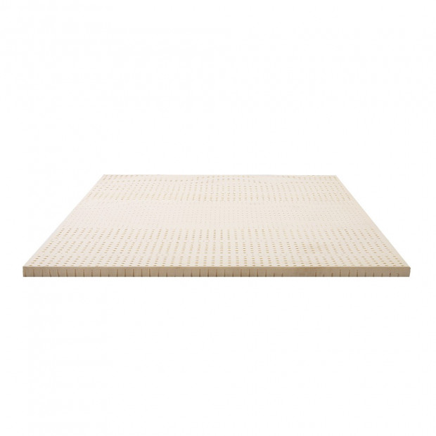 7 Zone 5cm Pure Natural Latex Mattress Topper Double