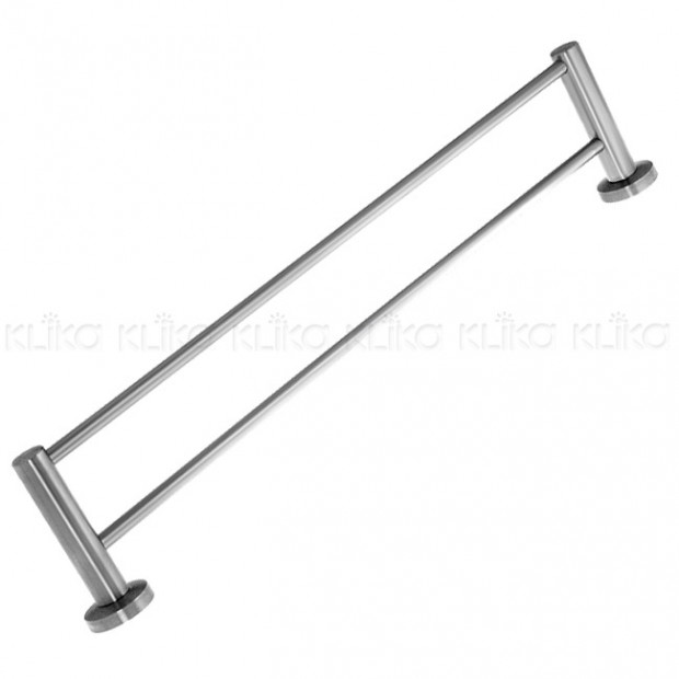 Stainless Steel Dual Towel Rail Rack 600mm