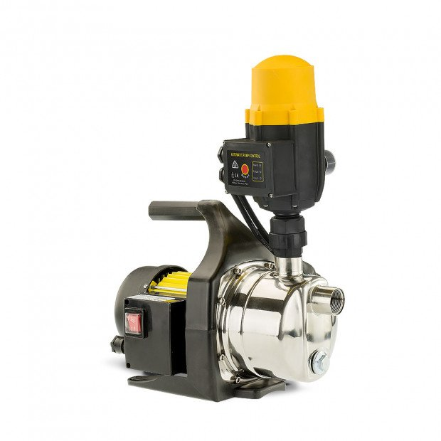 Hydroactive 1400w Automatic stainless electric water pump - Yellow