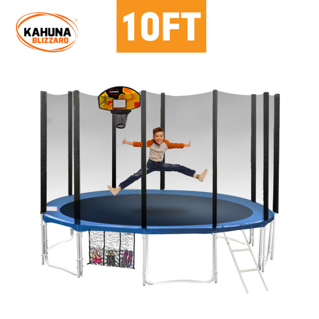 Blizzard 10 ft trampoline with net