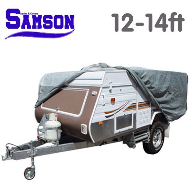 Samson Heavy Duty Trailer Camper Cover 12-14ft