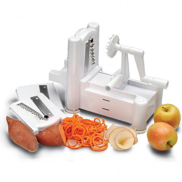 3in1 Turning Fruit and Vegetable Slicer
