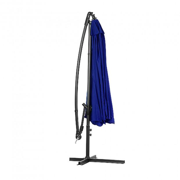3m Cantilever Market Umbrella - Blue Image 3