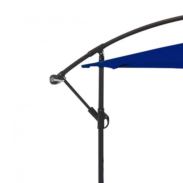 3m Cantilever Market Umbrella - Blue Image 5