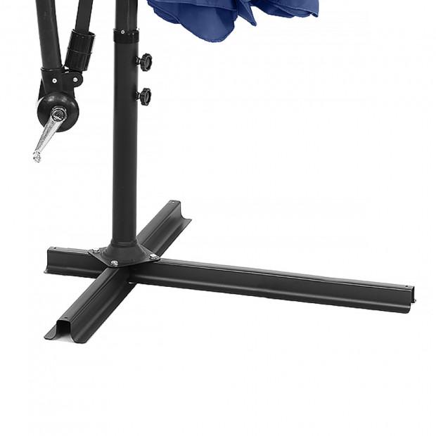 3m Cantilever Market Umbrella - Blue Image 1