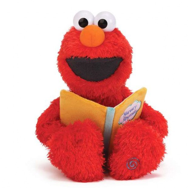 Talking Sesame Street Nursery Rhyme Elmo 38cm