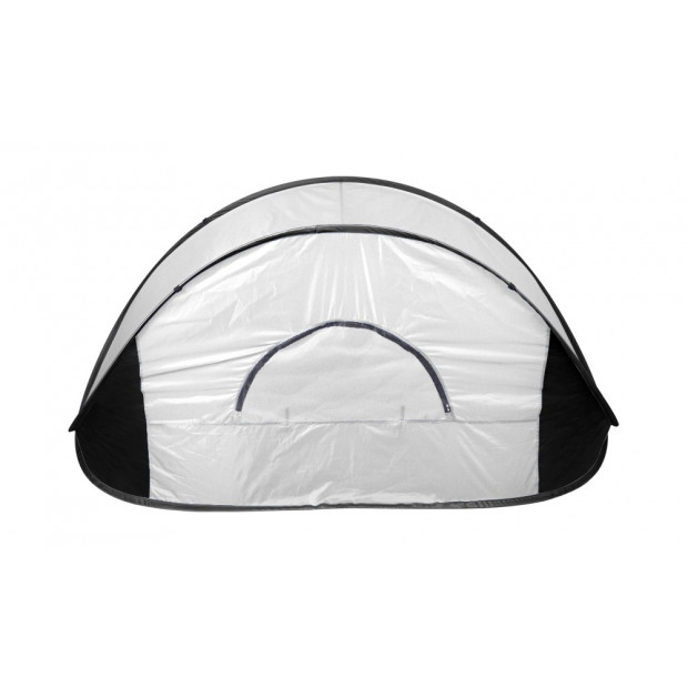 Pop Up Grey Camping Tent Beach Portable Hiking Sun Shade Shelter Image 2