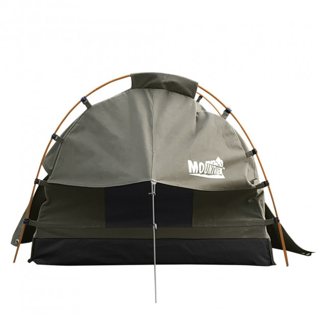 Canvas Dome Swags Free Standing In Grey Image 3