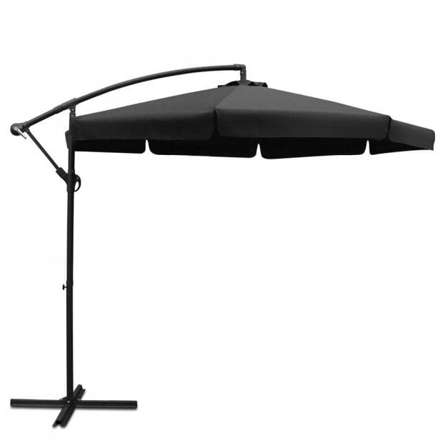 3M Outdoor Umbrella - Black