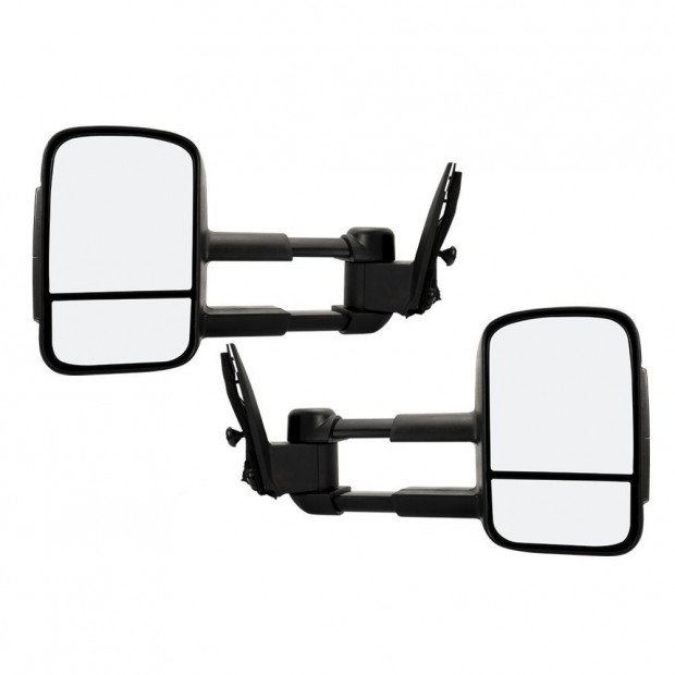 2pcs Towing Extendable Mirrors Toyota Prado 150 Series Wagon
