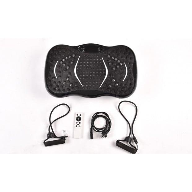 Vibration Machine Fitness Plate Bluetooth Massage Function Red Image 3