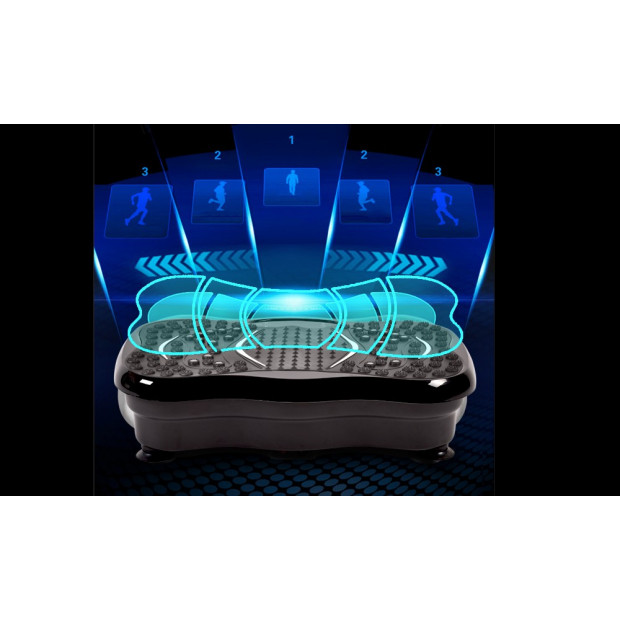 Vibration Machine Fitness Plate Bluetooth Massage Function Red Image 5