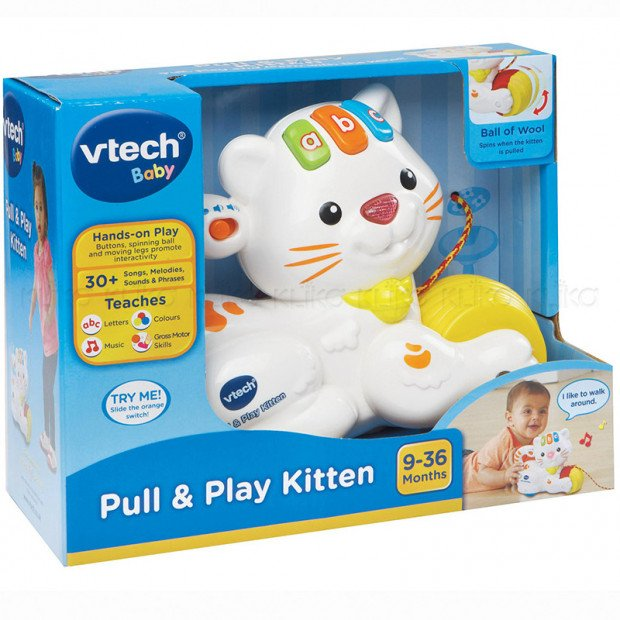 Vtech Baby Pull & Play Kitten