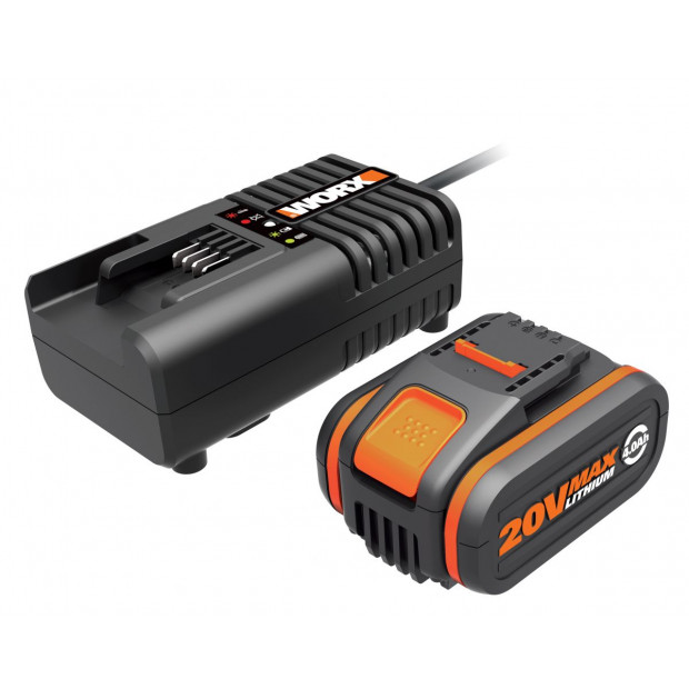 WORX WA3604 Powershare 20V 4.0Ah MAX Lithium-ion Battery