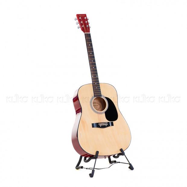 Karrera 41in Acoustic Wooden Guitar Natural