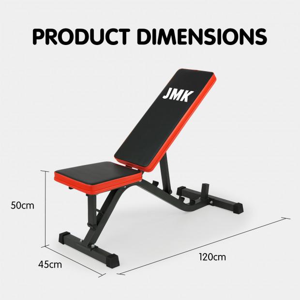 Adjustable Incline Decline Home Gym Flat Bench Image 5