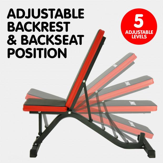 Adjustable Incline Decline Home Gym Flat Bench Image 2
