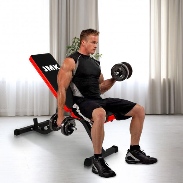Adjustable Incline Decline Home Gym Flat Bench Image 1