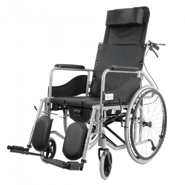 Orthonica Recliner Wheelchair Commode - Commander