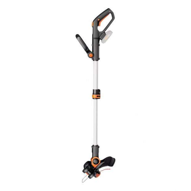 WORX WG163E.9 20V 2-in-1 Line/Grass Trimmer & Edger, with command feed